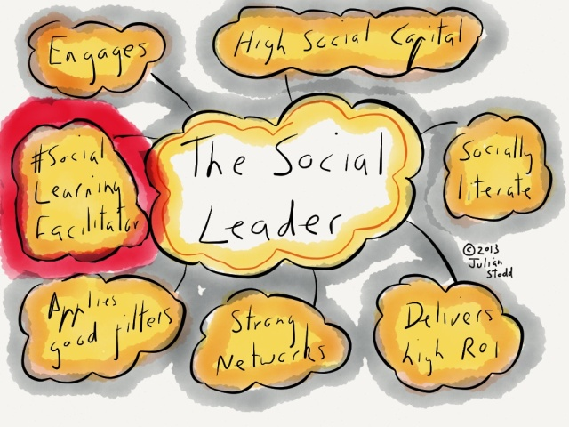 The Social Leader developing social learning