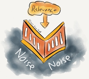 Relevance cuts through noise