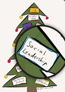 12 days of Christmas - social leadership