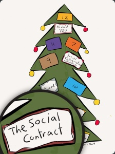 The 6th day of Christmas - social contract