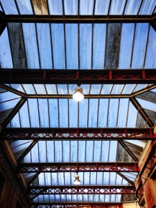 Station ceiling, Bristol