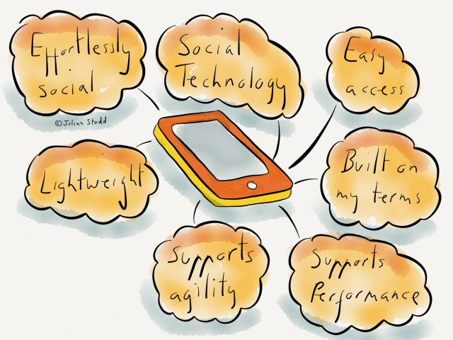 Social Technology and the need for ease