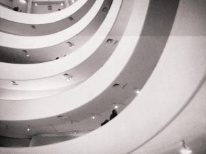 Interior of Guggenheim
