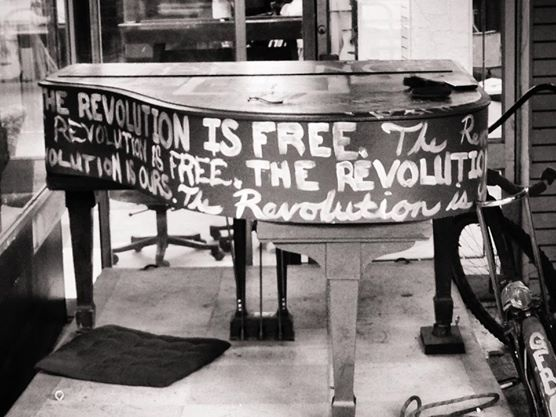 San Francisco revolution piano