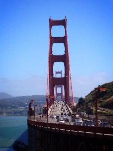 San Francisco Golden Gate Bridge view