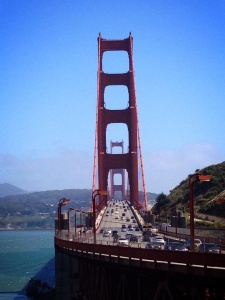 San Francisco Golden Gate Bridge view