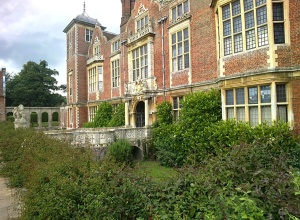Blickling Hall from the front