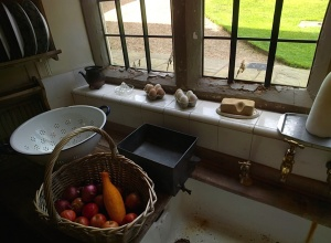The kitchen at Blickling