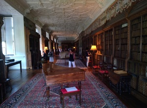 The library at Blickling Hall