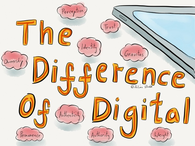 The Difference of Digital