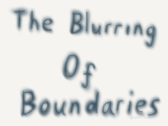 The blurring of boundaries