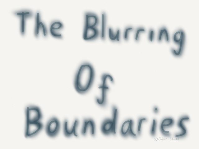 The blurring of boundaries