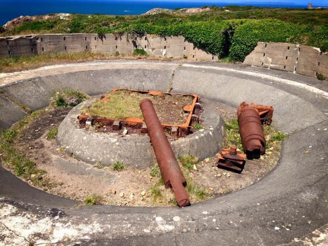 Photos of rusted gun in Jersey