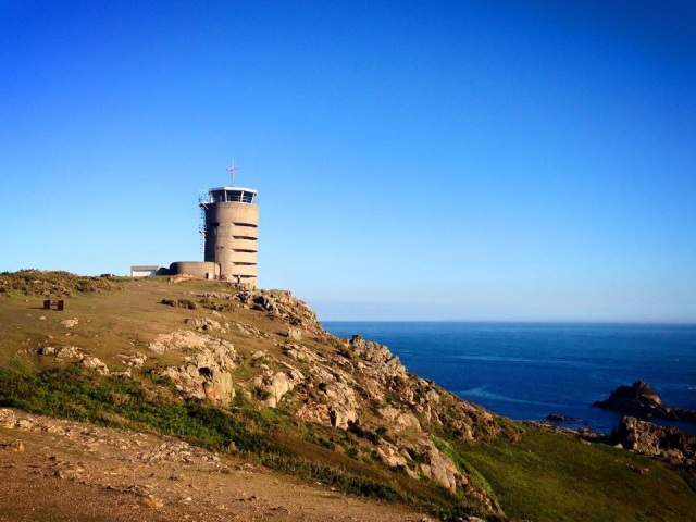 Observation tower in Jersey