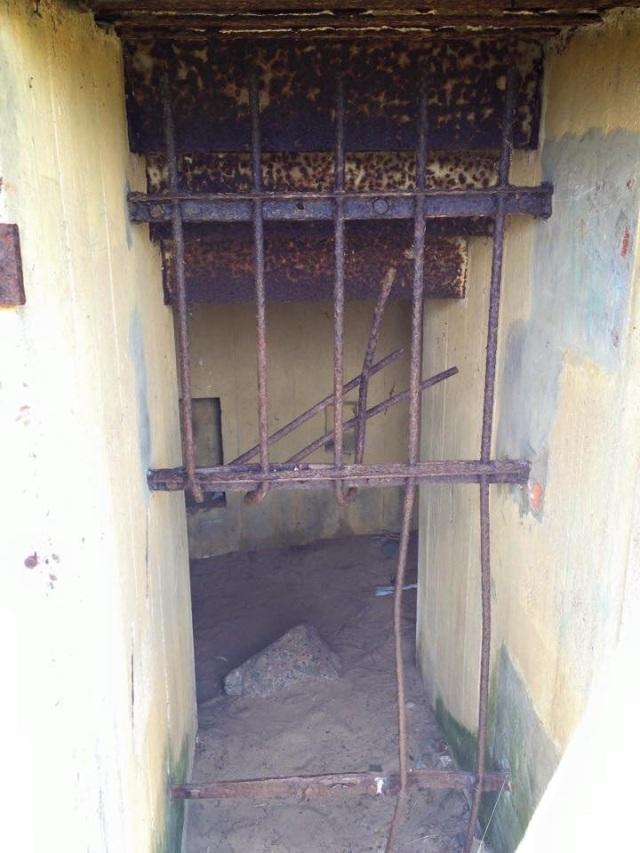 Doorway to bunker in Jersey