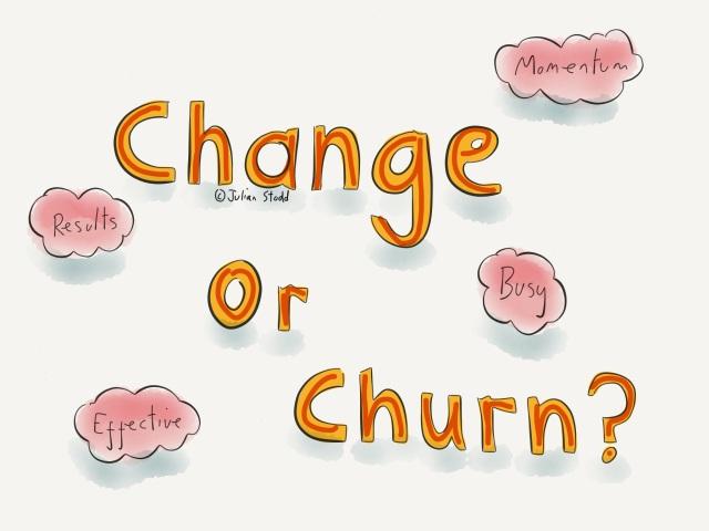 Change or Churn?