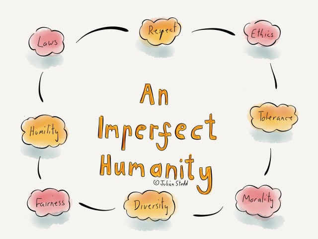 An imperfect humanity