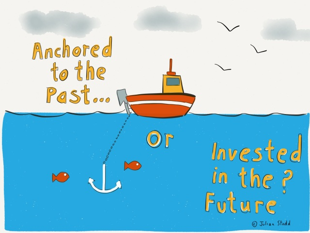 Anchored in the past, or invested in change