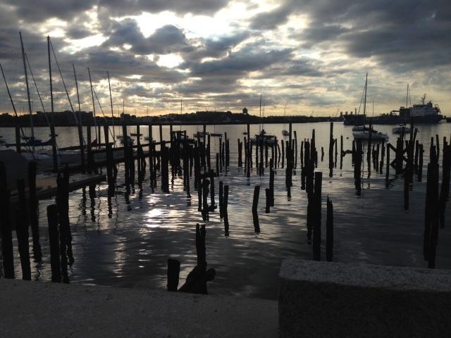 Boston piers
