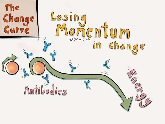 The Change Curve: Losing Momentum in Change
