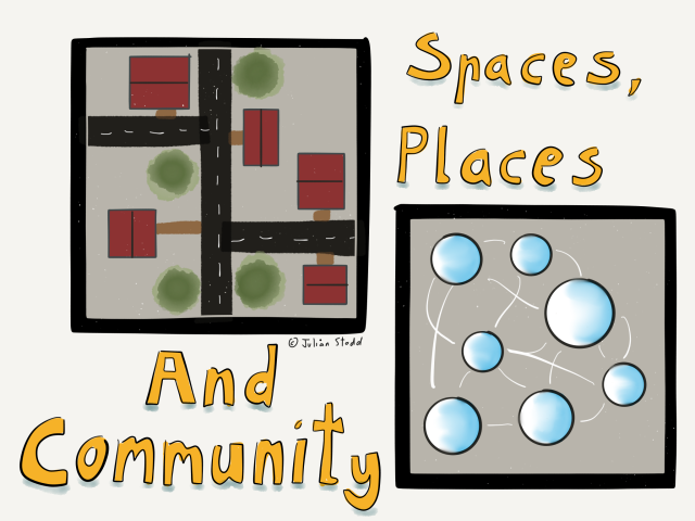 Spaces, places and community
