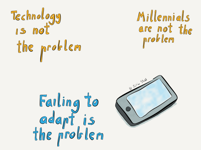 Technology is not the problem