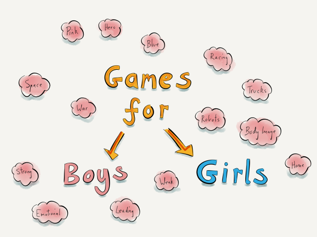 Games for Boys. Games for Girls