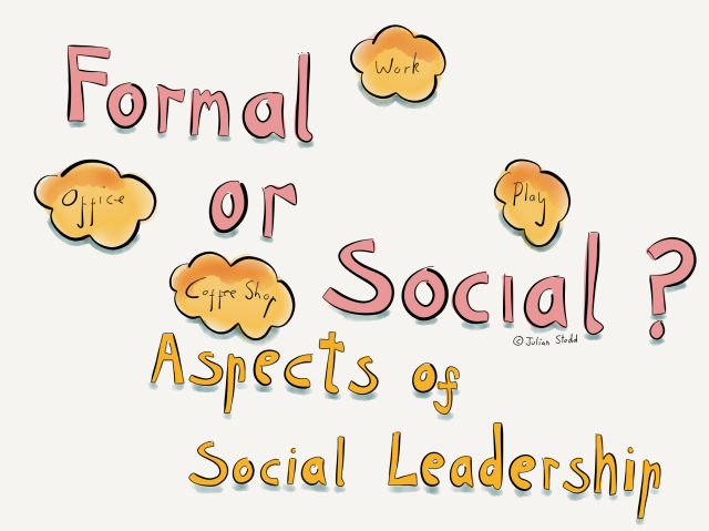 Aspects of Social Leadership - formal or social