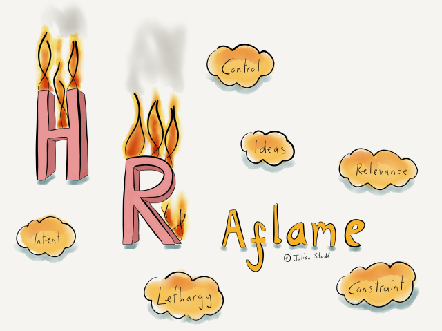 HR Aflame
