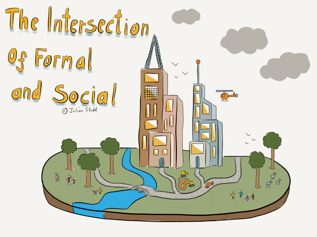 The Intersection of Formal and Social