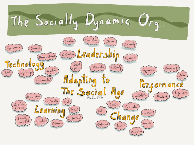 The Socially Dynamic Organisation