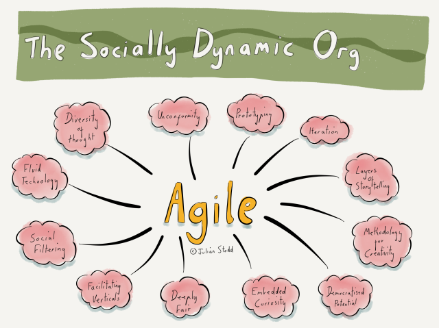 The Socially Dynamic Organisation and Agility