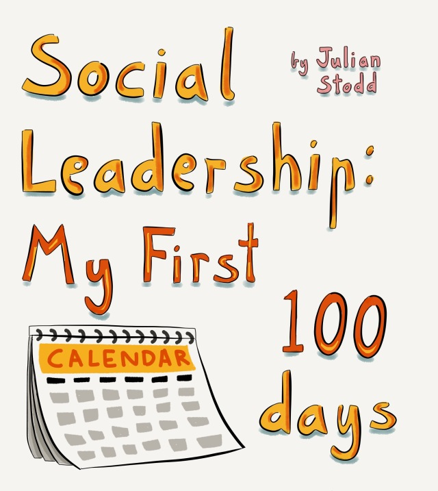 Social Leadership 100 book cover prototype
