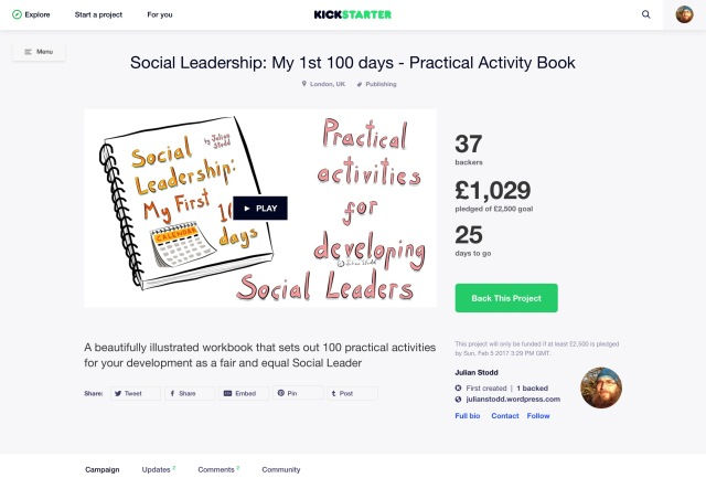Social Leadership My First 100 Daysa