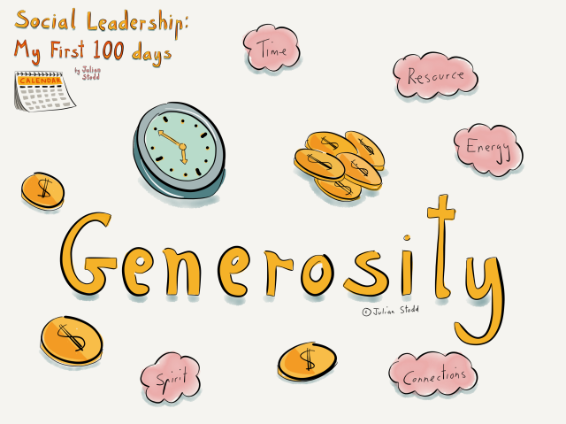 Social Leadership 100 - Generosity