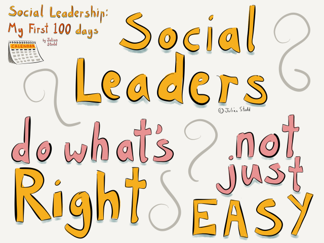 Social Leadership 100 - Do What's Right