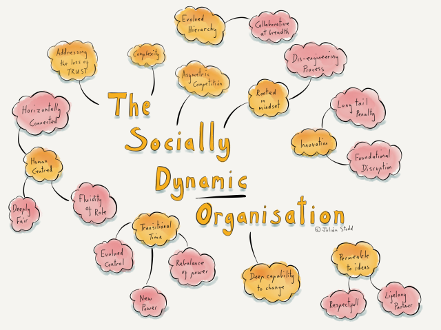 Sketching the Socially Dynamic Organisation