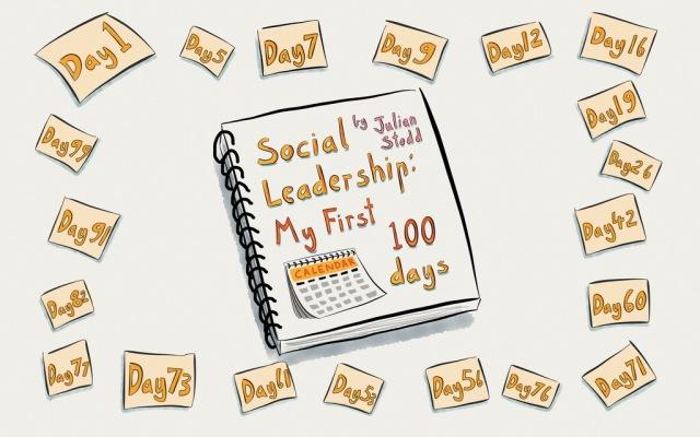 Social Leadership - my 1st 100 days