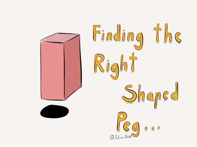 Square peg - round hole