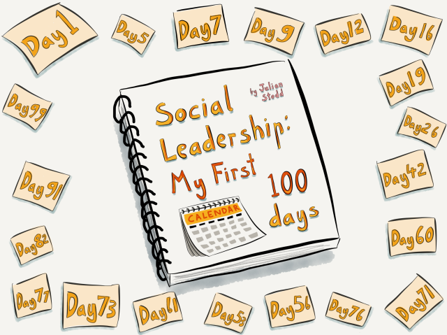 Social Leadership: my 1st 100 days