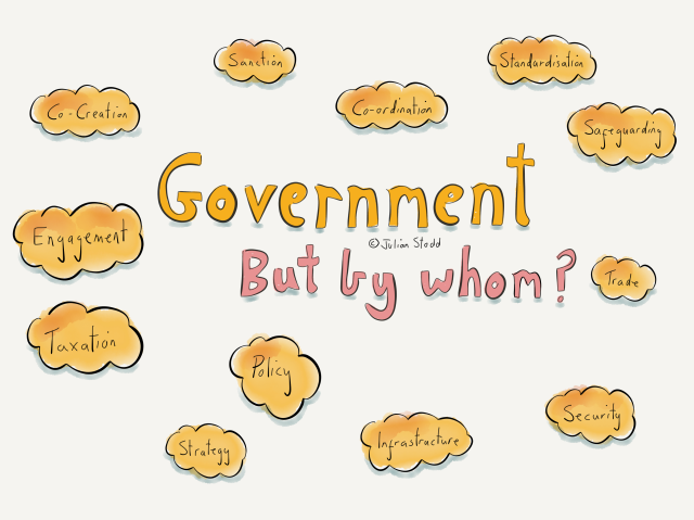 Government but by whom?