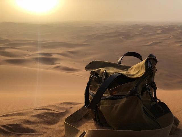 Morocco Diary - canvas bag