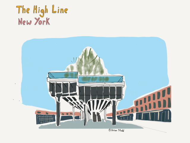 The High Line on the dereliction walk