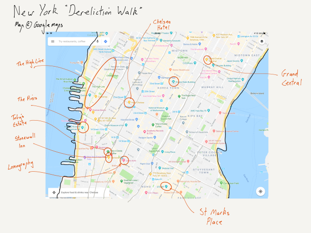 Dereliction Walk