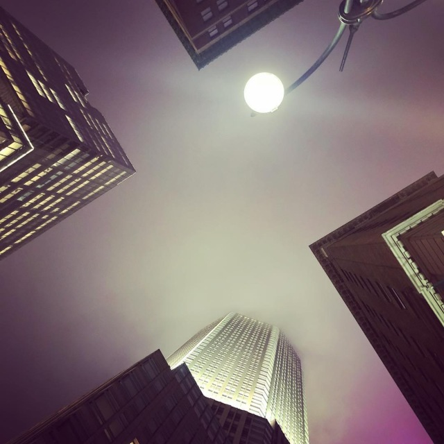 New York Looking Up