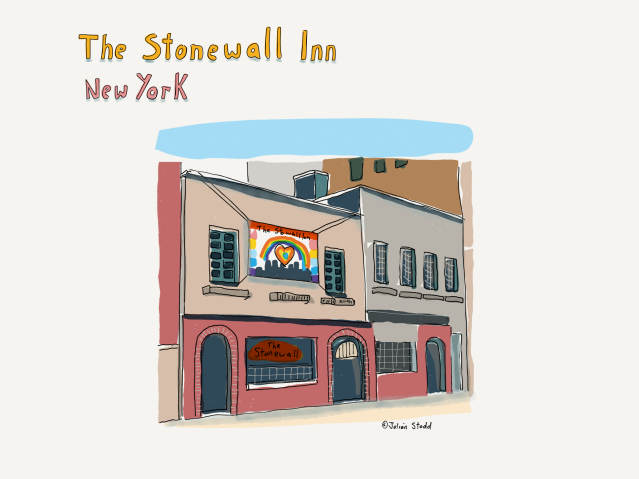 The Stonewall Inn on the Dereliction Walk