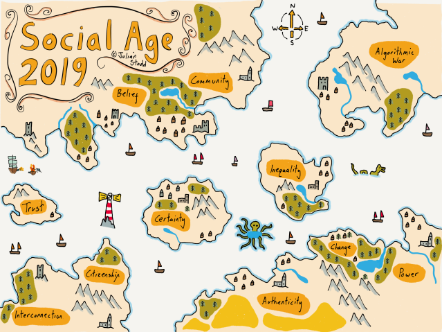 Map of the Social Age 2019